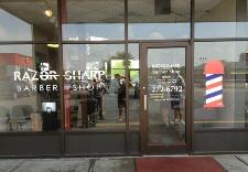 Razor Sharp Barber Shop Storefront